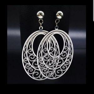 2 for $10 Oval bohochic earrings.❤